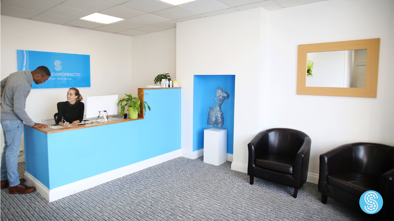 staines clinic reception